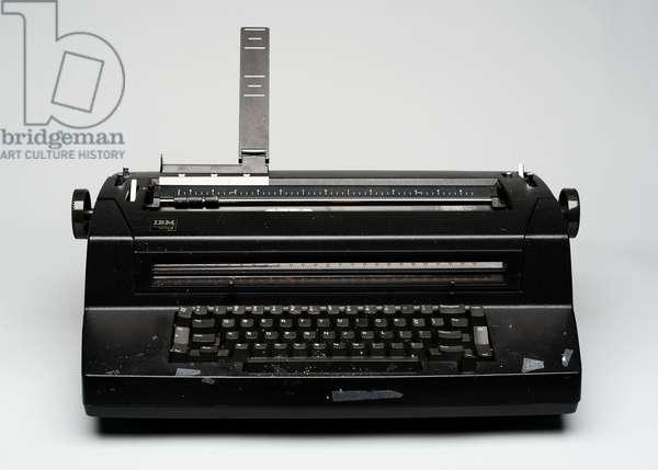 Ann Landers' typewriter