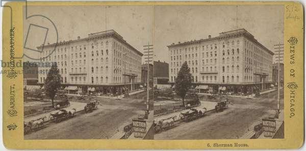 Sherman House, c.1865 (b/w photo)