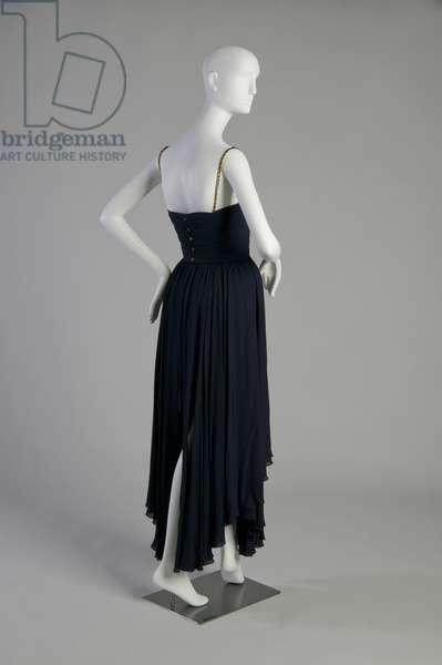Evening gown (back oblique view)
