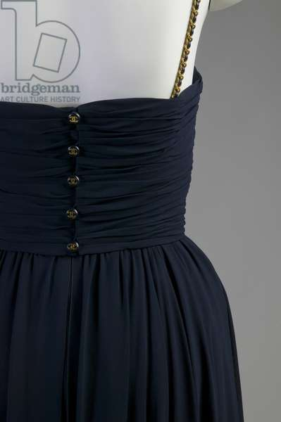 Evening gown (partial view of back at waist)