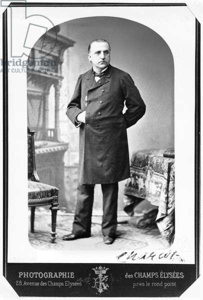 Doctor Jean Martin Charcot (1825-93) (b/w photo)