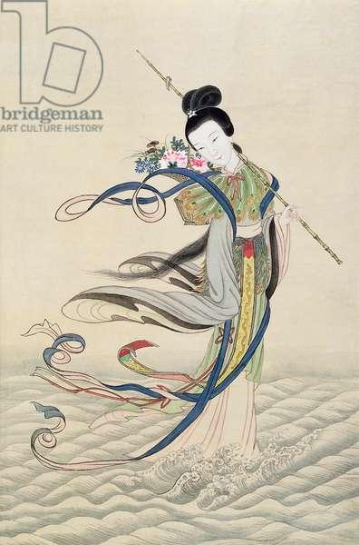 Ho Hsien-Ku, c.1900 (w/c on paper)