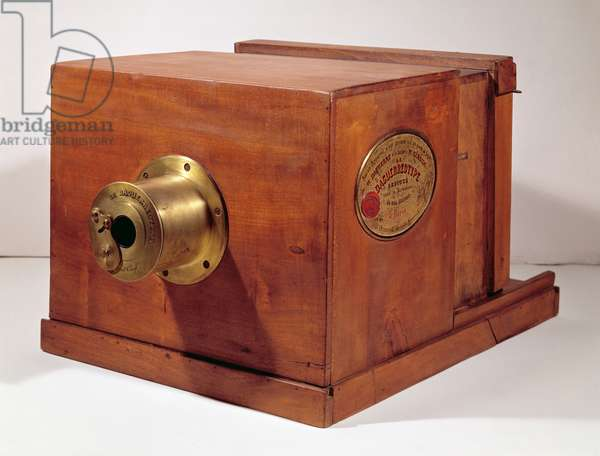 Camera used by Louis-Jacques Daguerre (1787-1851) (wood & metal)