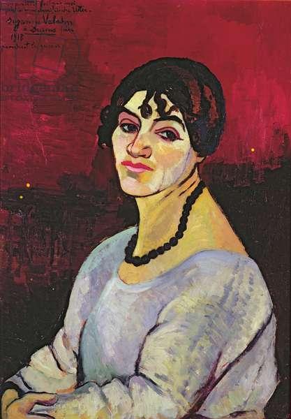 Self Portrait, 1918 (oil on canvas)