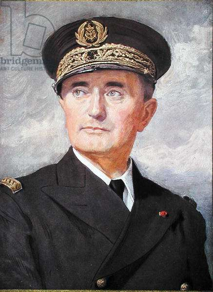 Admiral Francois Darlan (1881-1942), 1939 (oil on canvas)
