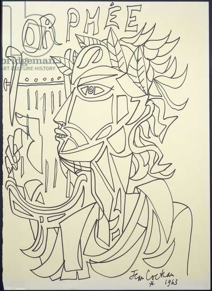 Orphee, 1963 (ink on paper)