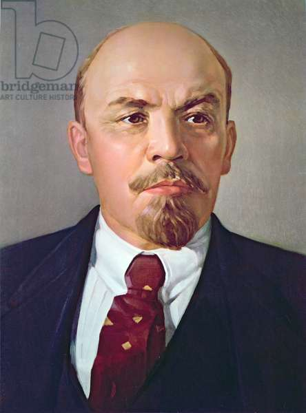 Lenin, c.1970 (colour litho)