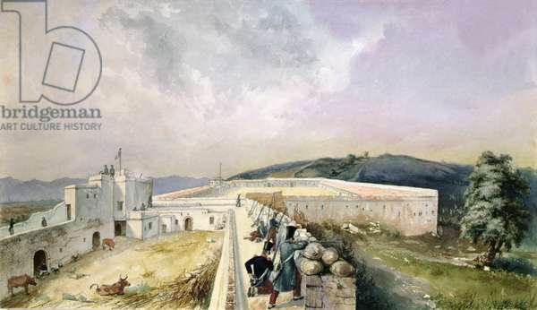 View of an Experimental Farm on the Outskirts of Algiers, c.1830-31 (w/c on paper)