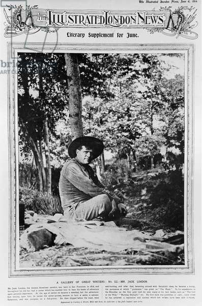 Jack London (1876-1916), from