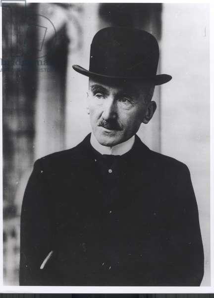 Henri Bergson (1859-1941) (b/w photo)