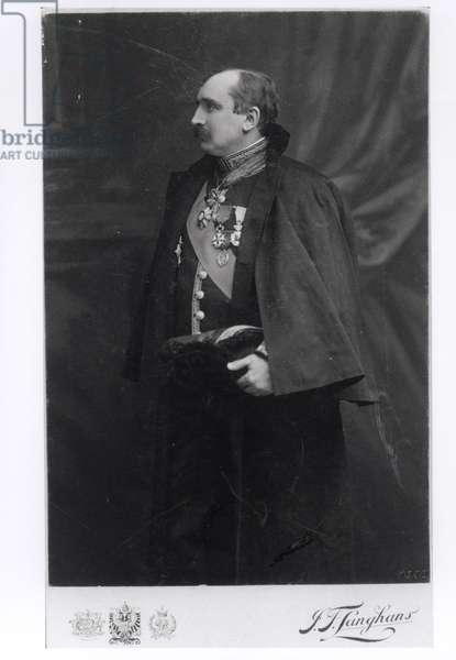 Paul Claudel (1868-1955) in his ambassadorial uniform, Prague, c.1910-11 (b/w photo)
