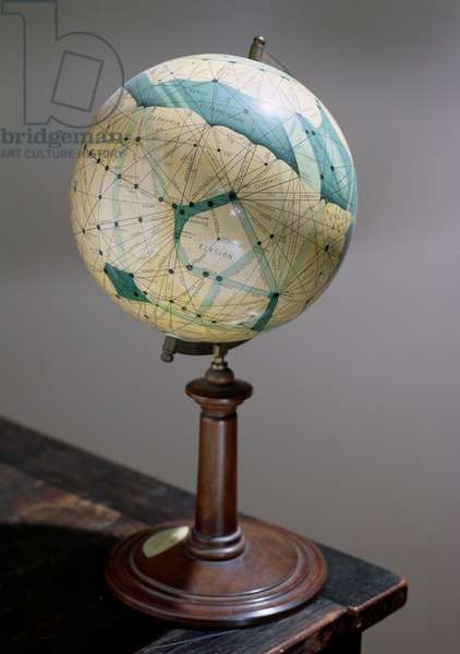Globe of the planet Mars, made 1903-09