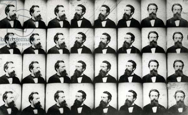 Multiple Portraits of a Man (ferrotype)