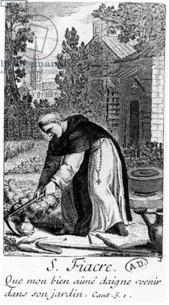 Saint Fiacre (engraving)