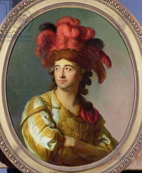 Portrait of Larive (oil on canvas)