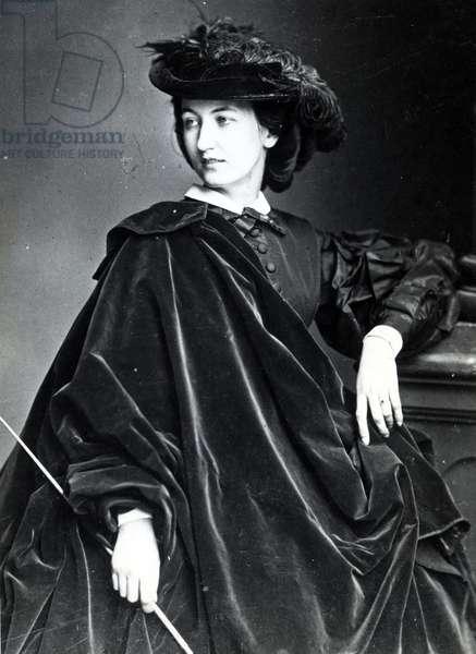Lola Montez, c.1860 (b/w photo)