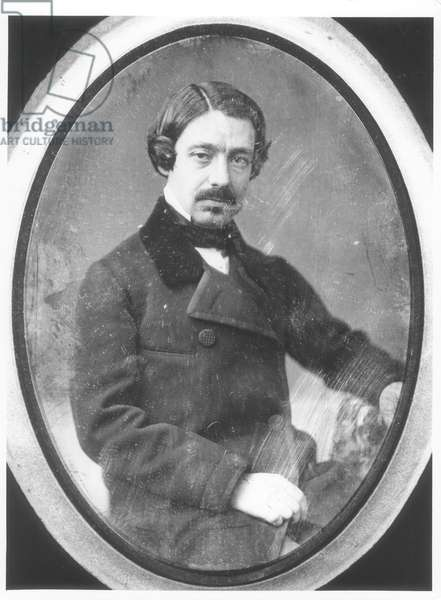Leon Foucault (1819-1868), before 1848 (daguerreotype) (b/w photo)