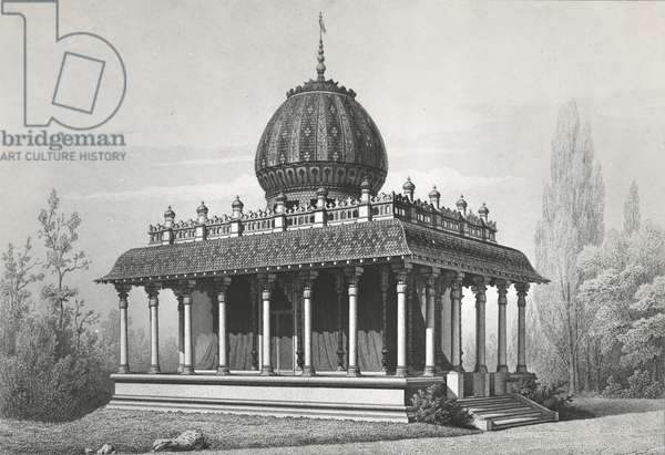 Pavilion of the East India Company, at the Exposition Universelle of 1867, 1868 (litho)
