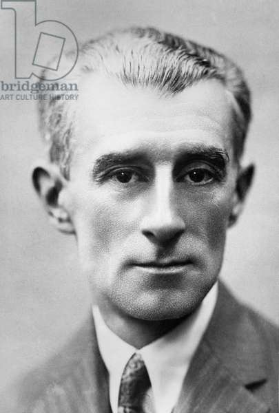 Maurice Ravel (b/w photo) 88;Maurice Ravel (1875-1937) French composer;