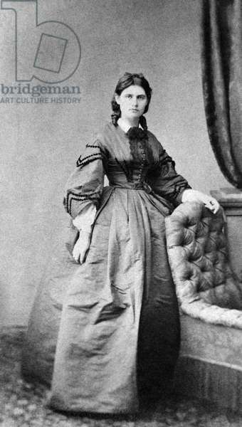Berthe Morisot, c.1870 (b/w photo)