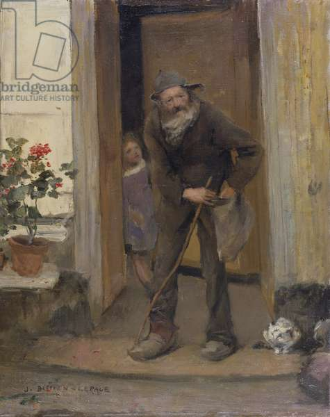 The Beggar, 1881 (oil on canvas)