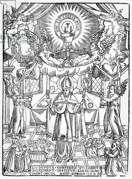 Saint Nicholas, 1602 (woodcut)