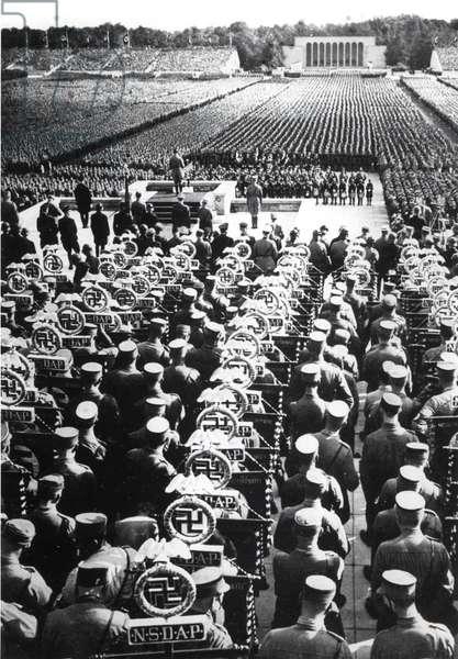 The Reichsparteitag, 1935 (b/w photo)