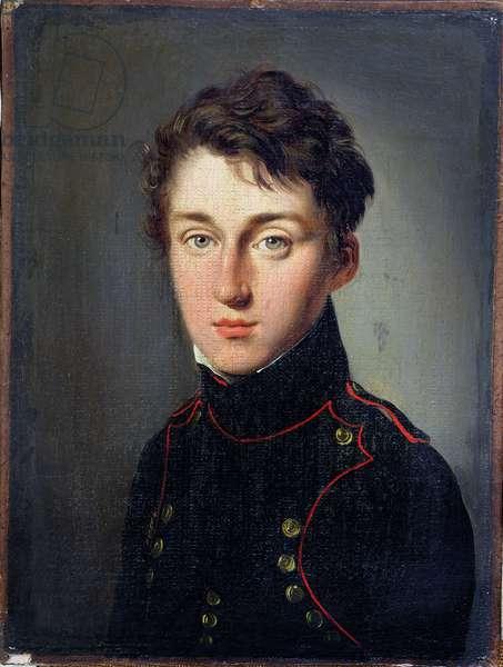 Portrait of Lazare Nicolas Marguerite Carnot (1753-1823) (oil on canvas)