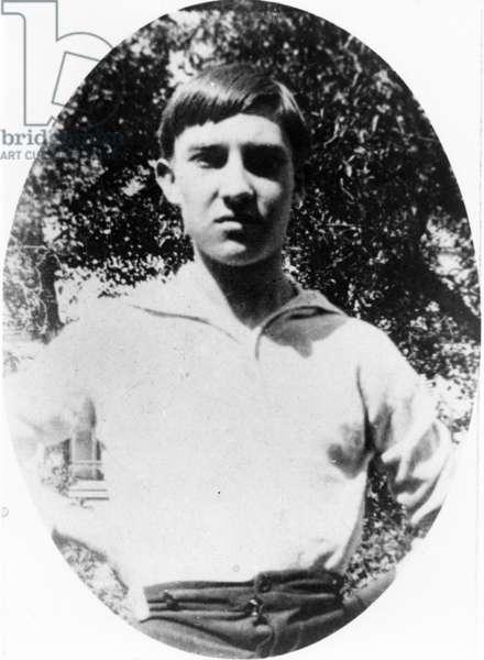 Raymond Radiguet (1903-23), early 20th century (b/w photo)