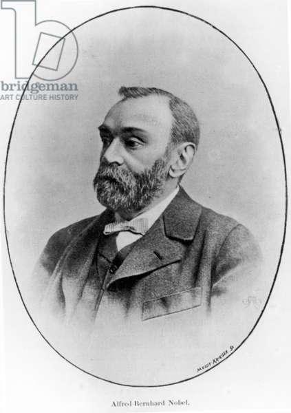 Alfred Bernhard Nobel, 1902 (litho)