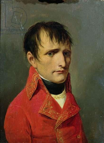 Napoleon Bonaparte (1769-1821) Premier Consul (oil on canvas)