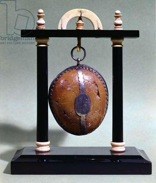 A bezoar on a stand, 1651