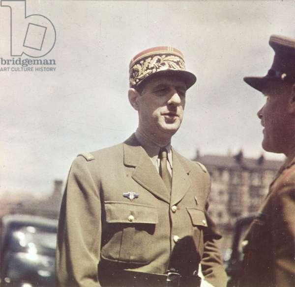 General Charles de Gaulle (1890-1970), London 1941 (photo)