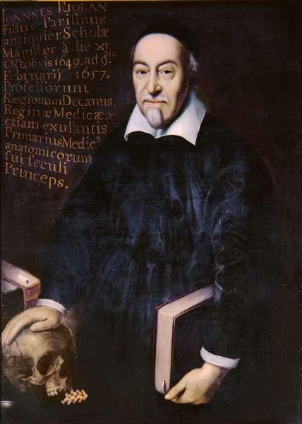 Jean Riolan (1580-1657) (oil on canvas)