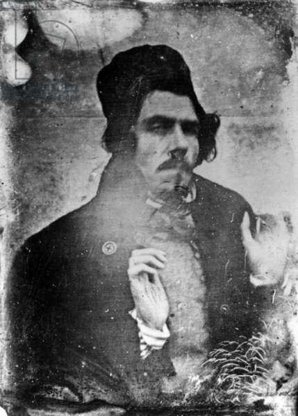 Portrait of Eugène Delacroix, 1842 (daguerreotype)