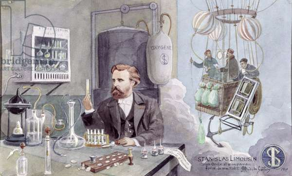 Stanislas Limousin (1831-87) 1949 (w/c on paper)