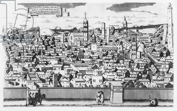 View of Bologna (engraving)