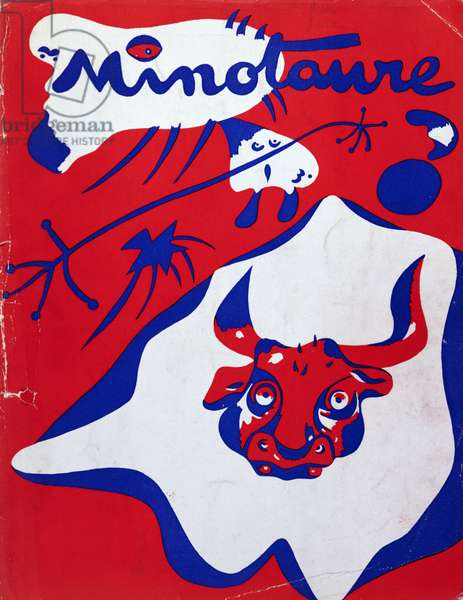Cover of issue no.7 of 'Minotaure', 1935 (colour lithograph)
