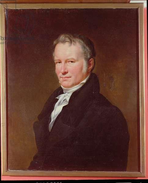 Baron Alexander von Humboldt (1769-1859) c.1835 (oil on canvas)