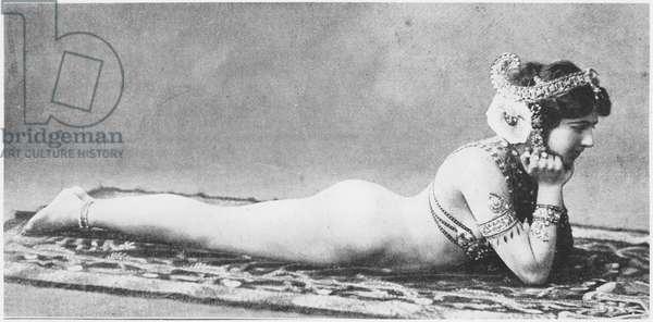 Mata Hari, c.1905 (b/w photo)