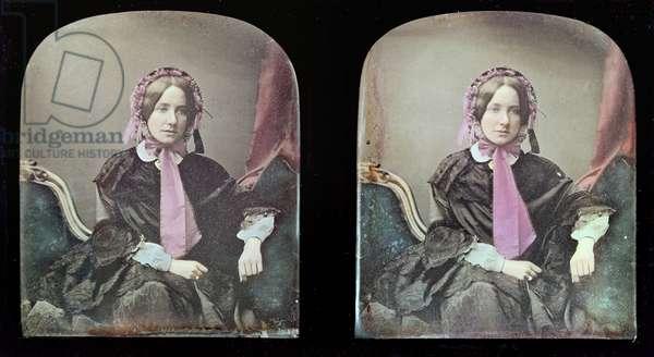Portrait of a woman (daguerreotype)