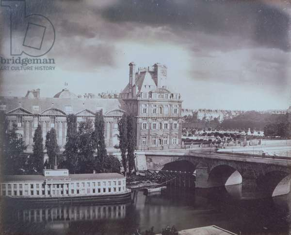 View of the Louvre and the Tuileries, c.1850 (daguerreotype)