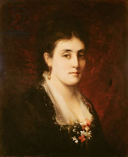 Madame Adrien Proust, 1880 (oil on canvas)