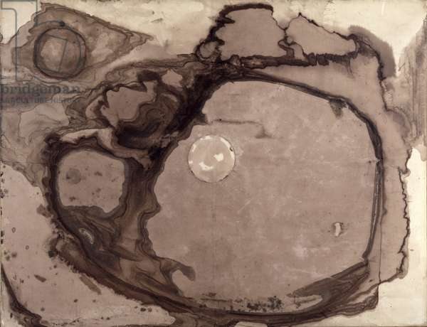 Planets, 1857 (ink & wash on paper)