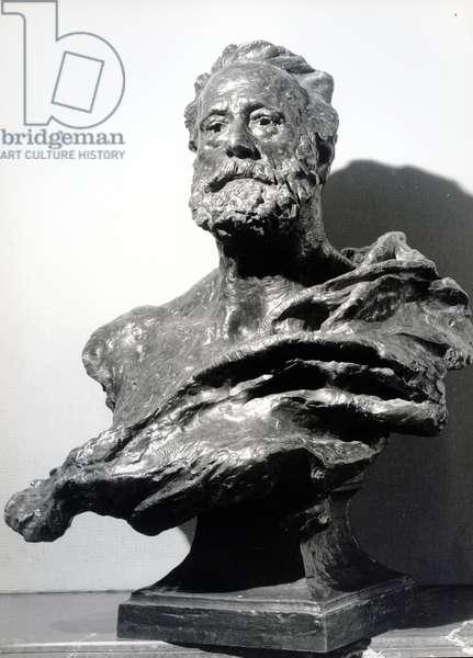 Victor Hugo, c. 1885 (bronze)