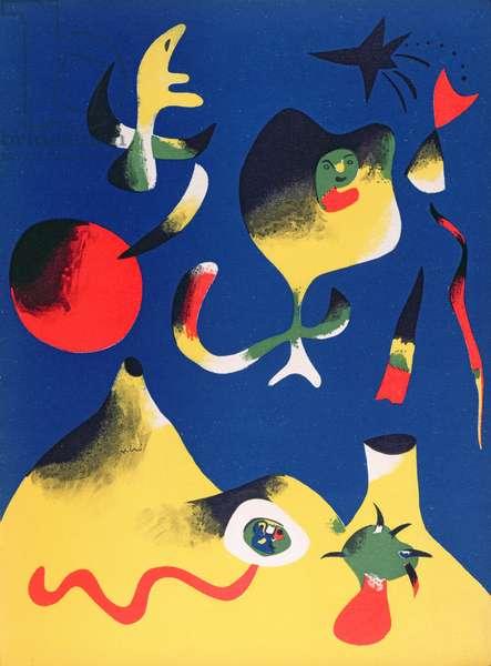 Air, 1937 (colour lithograph)