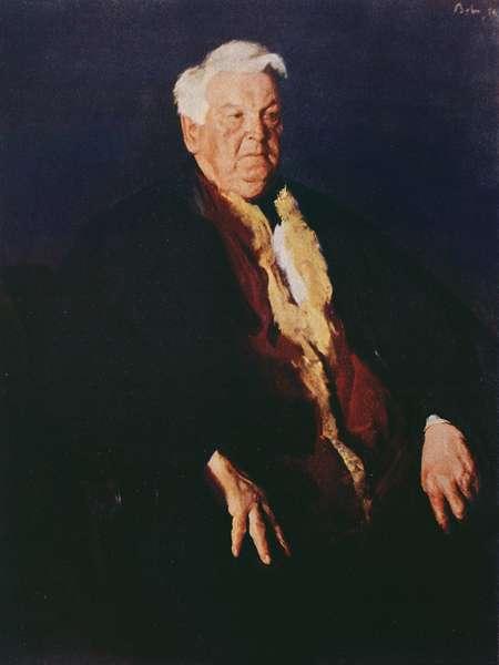 Mihail Sadoveanu (1880-1961) (colour litho)
