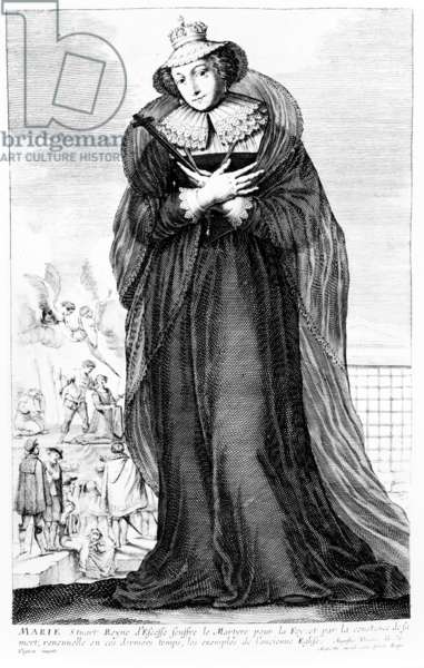 Mary Stuart Queen of Scots (engraving)