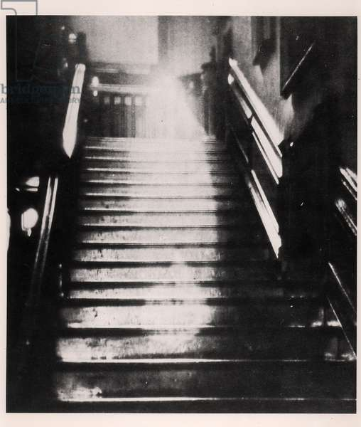 The Brown Lady of Raynham Hall, September 1936 (b/w photo)