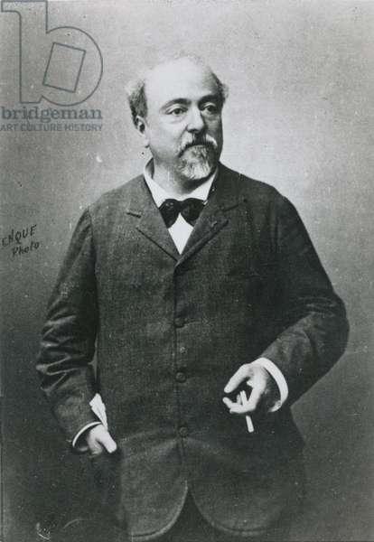 Emmanuel Chabrier (1842-94) (b/w photo)